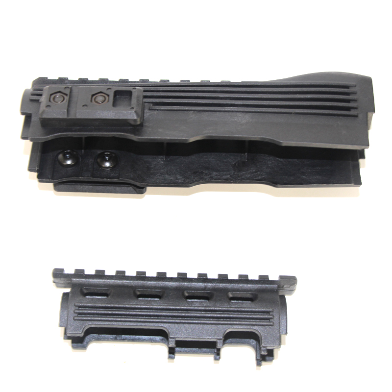 Tactical Hunting Airsoft Gear Shoot AK 47 Strikeforce Polymer Handguard Upper lower Picatinny Black Rifle Gun Accessories in Hunting Gun Accessories from Sports Entertainment