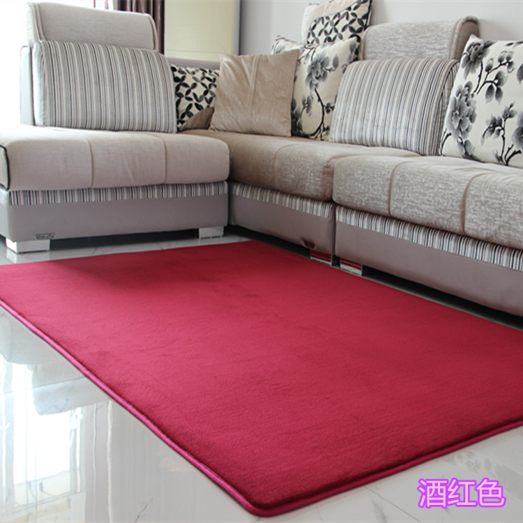 New Fashion Fluffy Rugs Anti Skid Shaggy Area Multi Size Living Room Home Bedroom Carpet Thick Coral Velvet Floor Mat