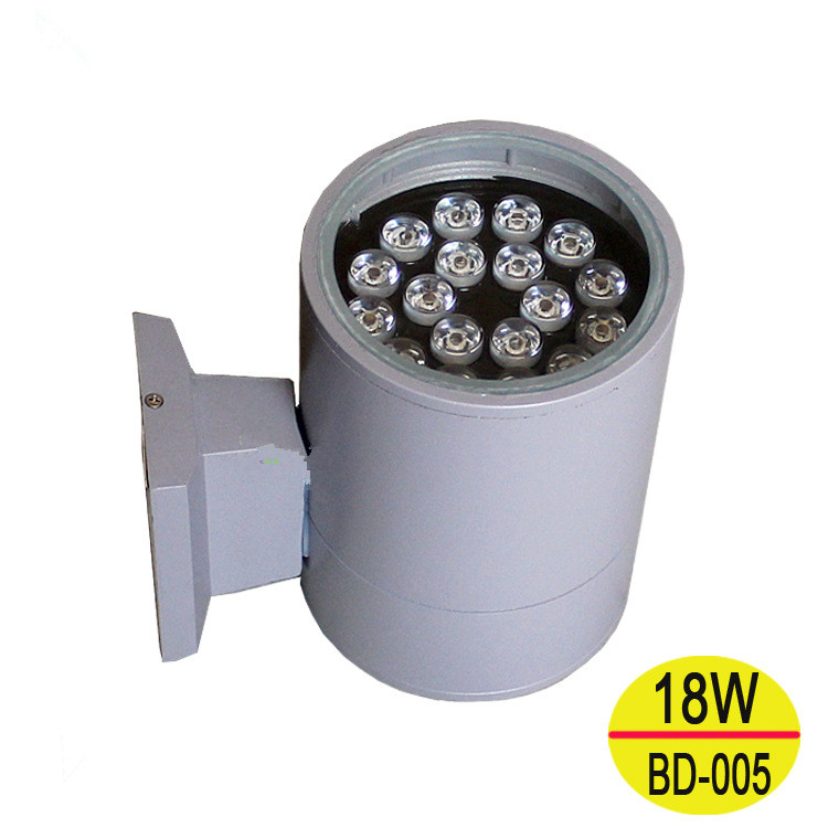 high quality outdoor waterproof up and down lighting wall lamps led spot wall light sconces 6w LED Wall Light Outdoor Lighting Exterior Wall Sconce Porch lights 18W IP65 Waterproof Up and Down Garden Wall Lamp Single head