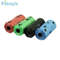 D3 10Roll 150PCS Degradable Pet Dog Waste Poop Bag With Printing Doggy Bag Aug10
