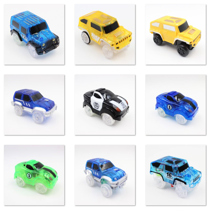 8-Styles-Electronics-Magic-Track-Cars-Led-Flashing-for-Glow-in-the-dark-Tracks-Toys-For-Kids-4
