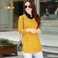 2016 Autumn fake one-piece Sweater long sleeve wool Knitwear women Pullovers Slim Korean women bottoming Sweater Lady Tops Z1994