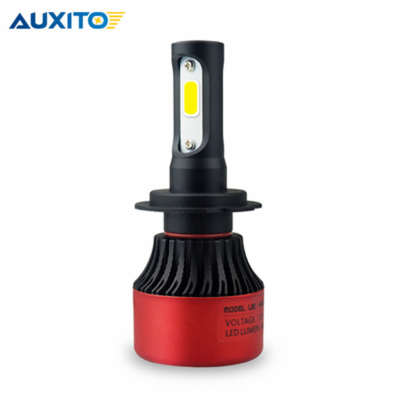 1PCS Car LED Headlight H11 H8 H7 9012 9005 9004 9007 Hi Lo Beam COB Car