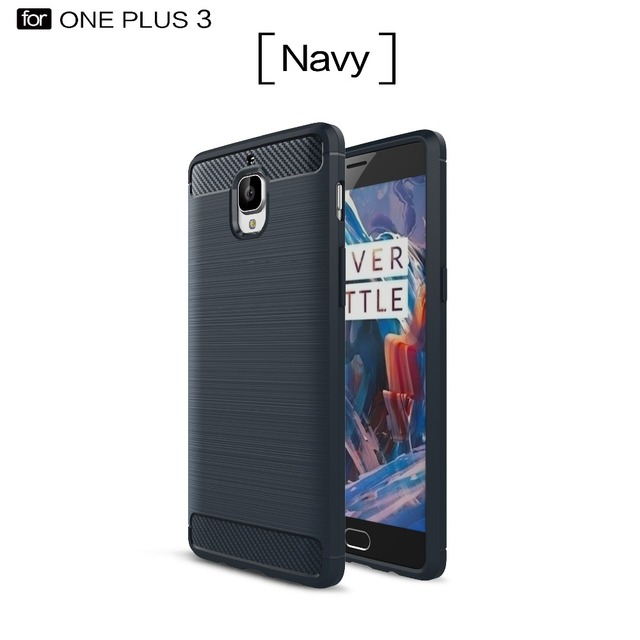 new concept e9c28 c904f US $3.37 6% OFF|BYHeYang for Oneplus 3 case Luxury 360 full cover for one  plus 3 Oneplus 3T phone Brushed silicon TPU back cover case anti knock-in  ...
