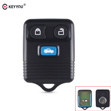 KEYYOU For Ford Transit MK6 Connect 2000 2001 2002 2003 2004 2005 2006 Car Key Fob 4 Buttons Remote Car Key Keyless Entry Fob