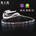 Female fashion luxury wedding waist chain crystal decoration waist belt/evening dress deserve to act the role of the pad