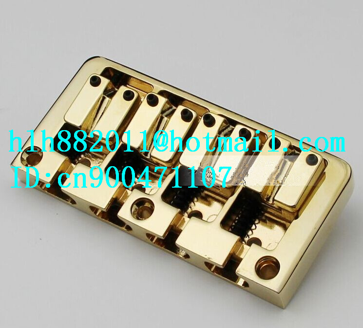 free shipping new 4 strings electric bass guitar bridge BB004  SU-7 free shipping new 6 strings electric bass guitar bridge in gold su 23