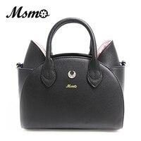 MSMO New Summer Cute Cat Bag Sailor Moon Luna Shoulder Handbags Fashion Casual Women Tote Top
