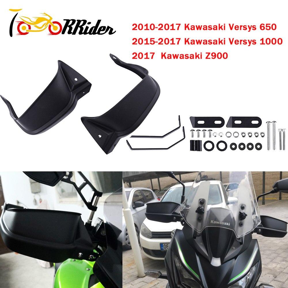 Motocicleta Versys650 Handguard Protetor de Mão Protetor de Vento escudo Defletor Capa para Kawasaki Versys 650 1000 Z900 Acessórios