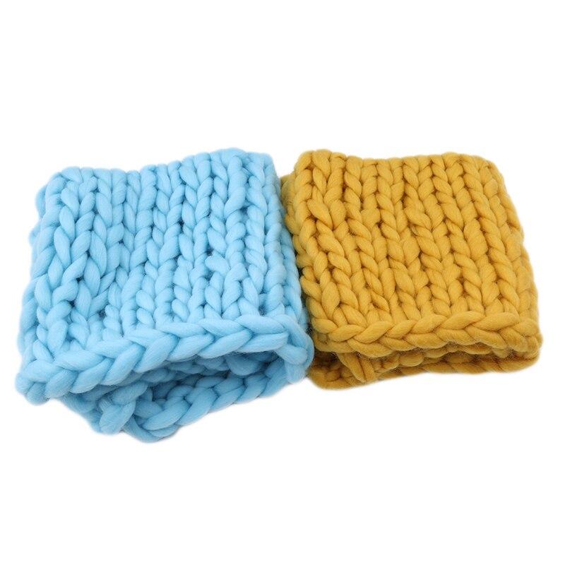новое поступление вязаные крючки для вязания шерстью одеяло для