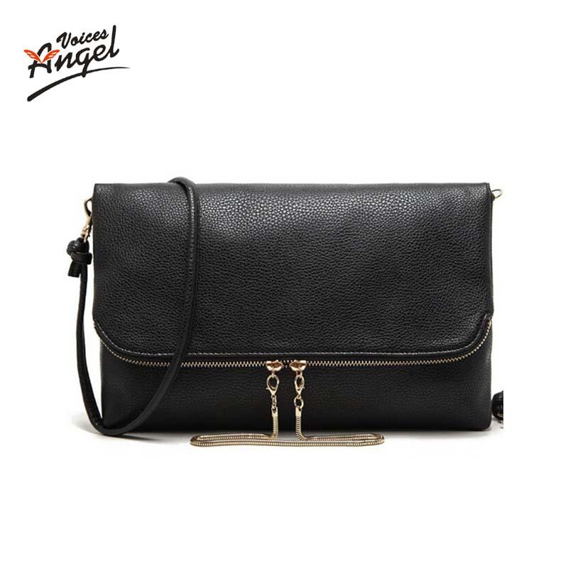 Casual Women Leather Handbag Clutch Bags Fashion Women Bags Chain Women Shoulder