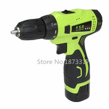 16.8V Electric Drill Double Speed Lithium Cordless Drill Household Multi-function Electric Screwdriver Power Tools(China (Mainland))