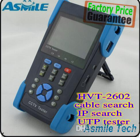 3.5 CCTV security camera tester monitor IP network camera IP address testing cable tracer POE PTZ UTP cable test
