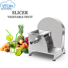 Manual Slicer Commercial Cutter Vegetable Fruit Chopper Sheet Potato Kitchen Cutting Machine