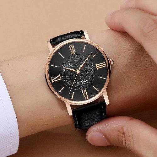 YAZOLE Brand Rose Gold Quartz Watch s