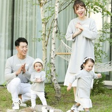 Family Matching Outfits Mother & Kids Casual Letter Print Fa