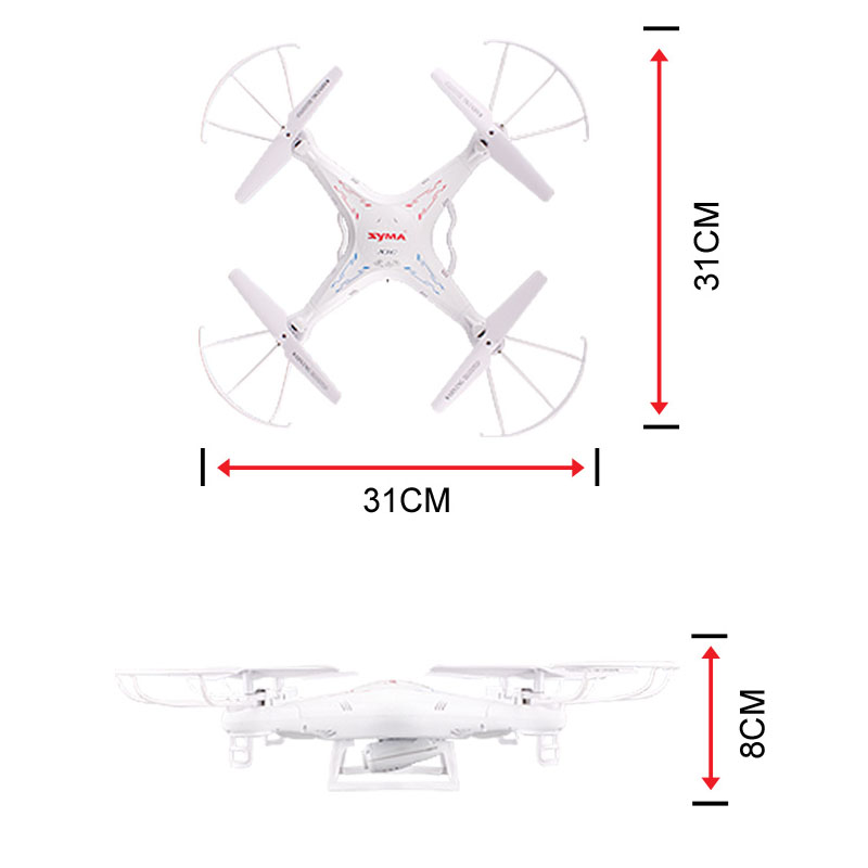 100% Original SYMA X5C (Upgrade Version) RC Drone 6-Axis Remote Control Helicopter Quadcopter With 2MP HD Camera or X5 No Camera 3