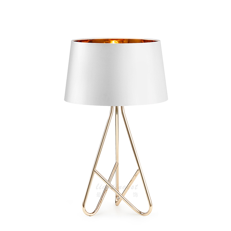 Us 162 12 24 Off Modern Led Table Lamps For Bedroom Nordic Lights Iron Stand Luxury Contemporary Novelty Lighting Fixtures Home Decoration In