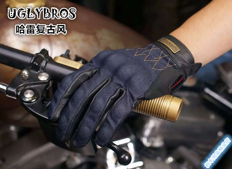 ФОТО Fashion jeans uglyBROS UBG515 gloves motorcycle  protective gloves unisex moto gloves touchable gloves