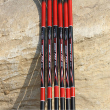 LIDAFISH new superhard carbon fiber fishing rods telescopic carbon fishing rods throw pole fishing rods fishingpesca low price