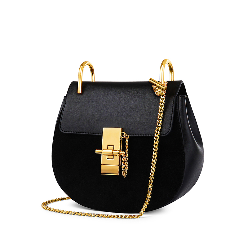 Zooler woman bag leather&skin bag hot circular bags handbags women famous brands shoulder bag chains bolsa feminina#1686 zooler hot bags handbags women famous brands 2018 genuine leather woman bag shoulder bags cowhide tote luxury high quality 110