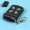 New 315MHz 200M 4 Buttons Wireless Remote Control Controller Keychain Black