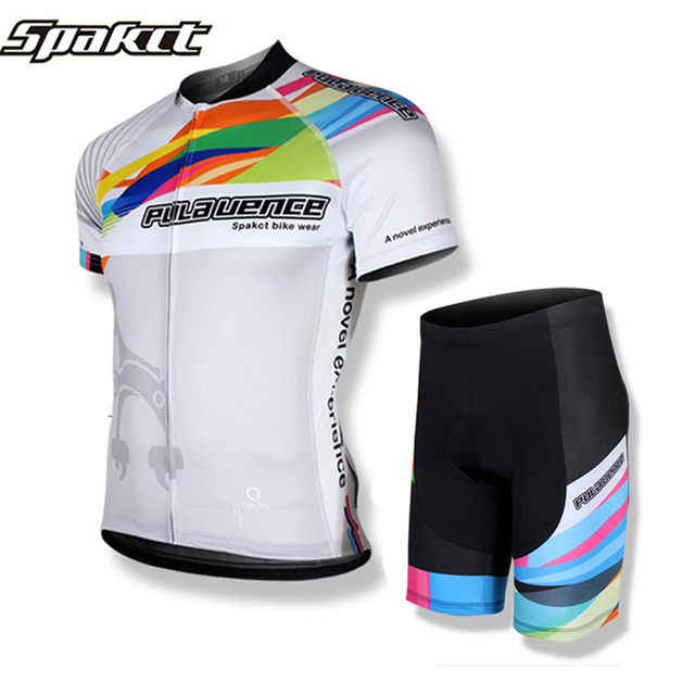 3539d0c7d SPAKCT Men Cycling Jersey Kits Summer Style Mountain MTB Road Bike Jersey  Breathable Downhill Jersey Complete Ropa Ciclismo