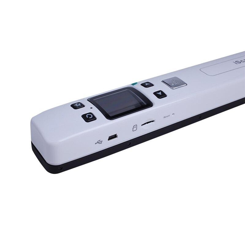 Высокоскоростной портативный сканер формата А4, сканер документов 1050 dpi, поддержка JPG/PDF, 32 ГБ, TF карта, мини-сканер-ручка с предварительной ка...