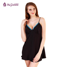 Yuzihua Sleepwear women Nightgowns nightwear Pyjama Women home clothing sleepwear female Nightdress sexy lingerie Gown Robe