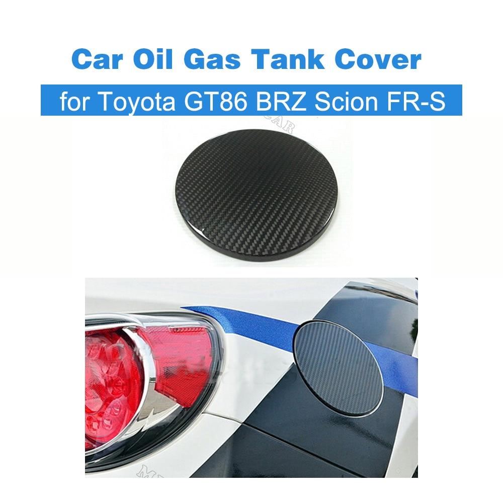 ᑐFibra de carbono Gas tapa del tanque para Toyota GT86 BRZ Scion FR ...
