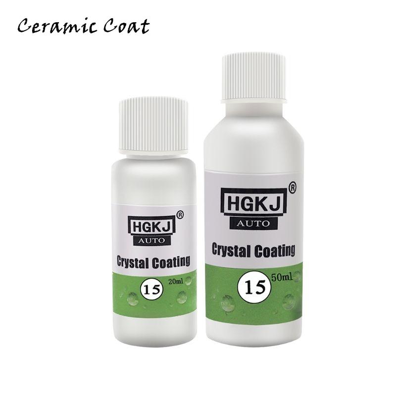 HGKJ-15 Car Polish Liquid Ceramic Coat 9H Anti-scratch Auto Detailing Glasscoat