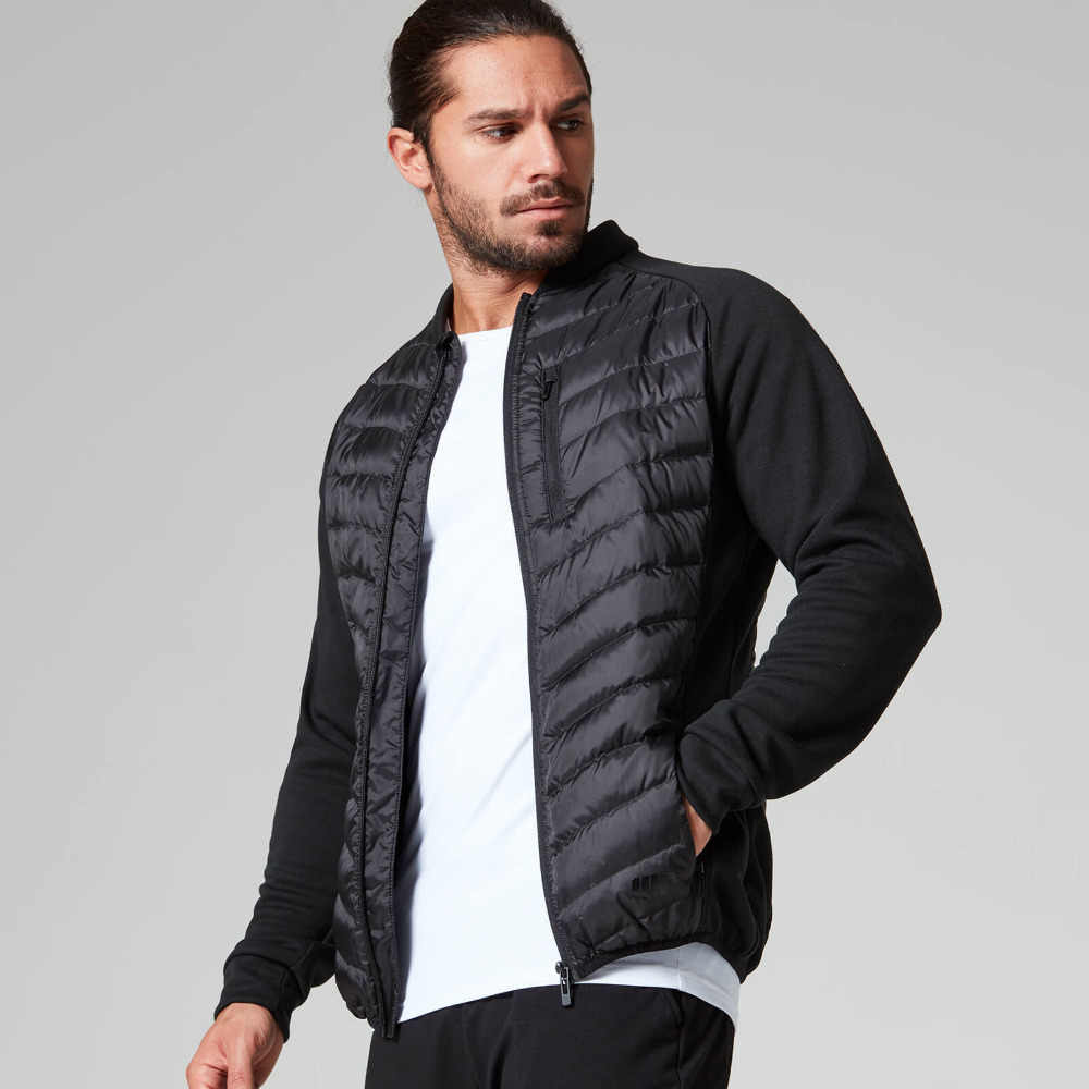 Mannen Running Jacket Basic Jassen Winter Outdoor Workout Sport Jas Waterdicht Warm Down Jassen Gym Jogging Jas voor Man