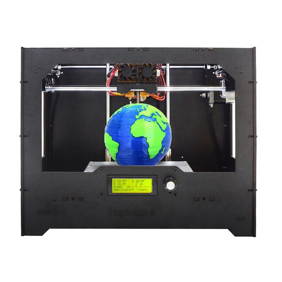 Geeetech bricolage 3D imprimante duplicateur 5 double extrudeuse avec Module Wi-Fi basé sur le Cloud intelligent EasyPrint 3D APP livraison gratuite
