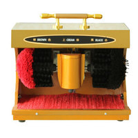 Automatic Electric Shoe Polishing Equipment Shoe Shine Machine Household Shoe Polisher Powerful Shoe Cleaning Device