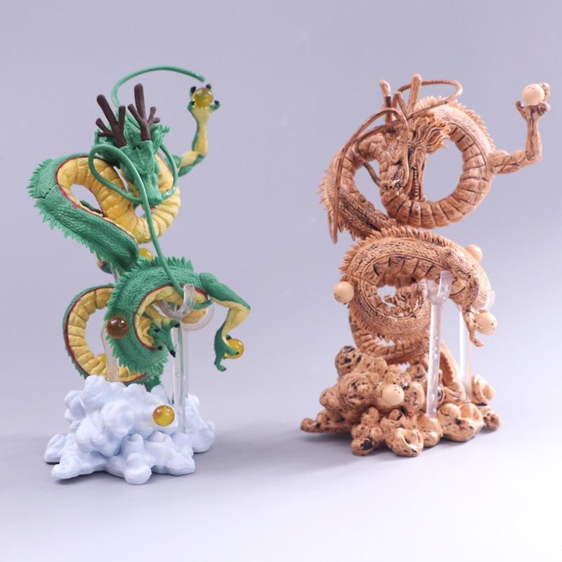 Japan Anime Dragon Ball Z Figure Shenron Winding Dragon Action Figure PVC Toy Gift 14.5~15.5 Cm Free Shipping