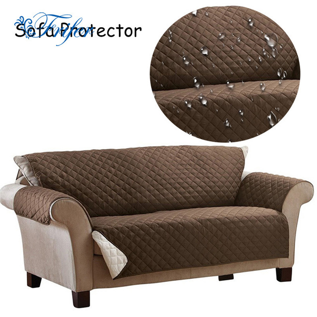 100 polyester waterproof sofa cover antiskid dirtproof sofa protector suede pet