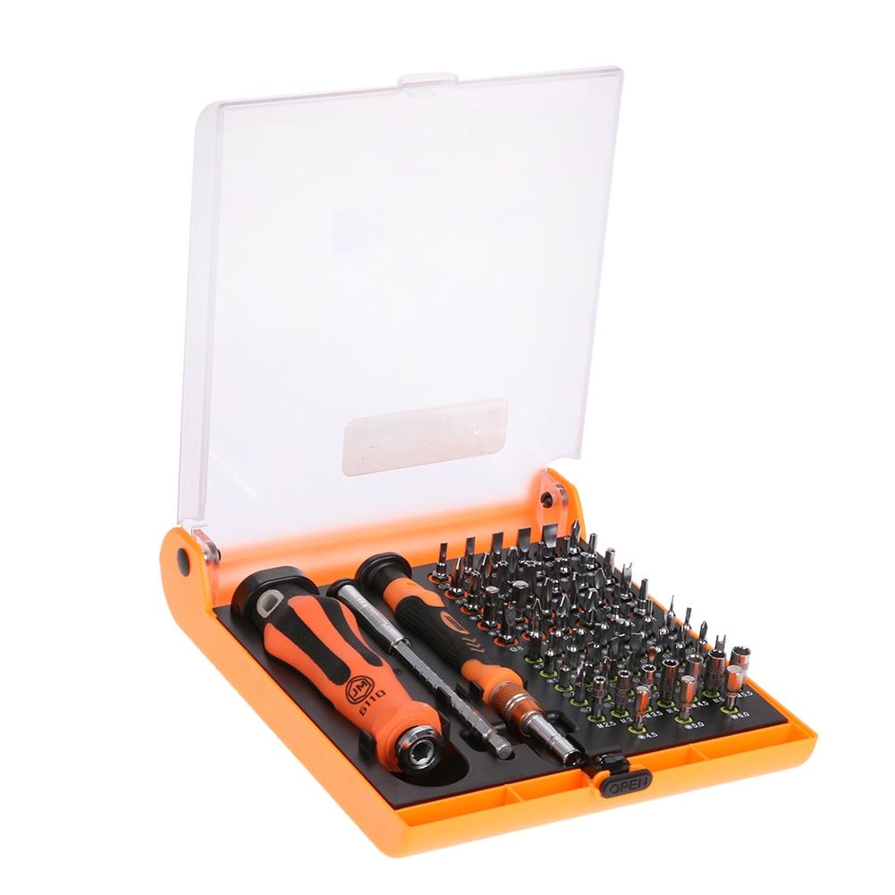 JAKEMY 72 in 1 Screwdriver Set Professional Repair Hand Tools Kit for Mobile Phone Computer Electronic Model DIY Repair Tools