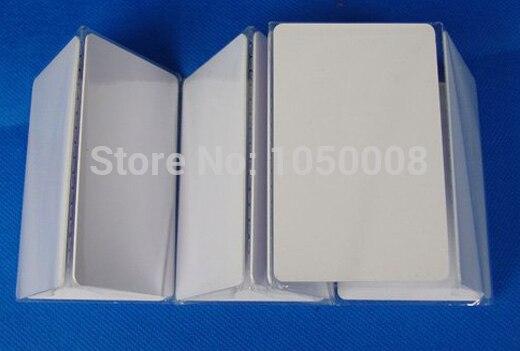 100pcs/lot EM4200 blank card Thin pvc Card rfid id card 125KHz 18000-2 Smart Card Chips
