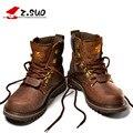 Z. Suo Hombres Botas Dr Martin Botas Primera Capa de Botas de Cuero de Los Hombres de Moda de Alta Calidad Tooling Botas Hombre Botas Hombre