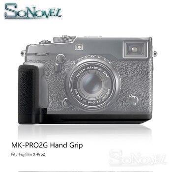 Meike MK-PRO2G Aluminum Alloy Vertical Quick Release Plate L Bracket Hand Grip Holder for Fujifilm Fuji X-Pro2 XPro2
