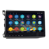 android 7.0.0 car radio gps player for honda civic 2012 2015 with radio gps navigation support mirror link steering wheel