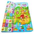 0.5 cm Double-sided Rastejando Esteira do Jogo Do Bebê Crianças Enigma Pad Crianças tapete Jogo de Chão do Ginásio Macio Tapete de Espuma Eva Brinquedo Desenvolvimento esteiras