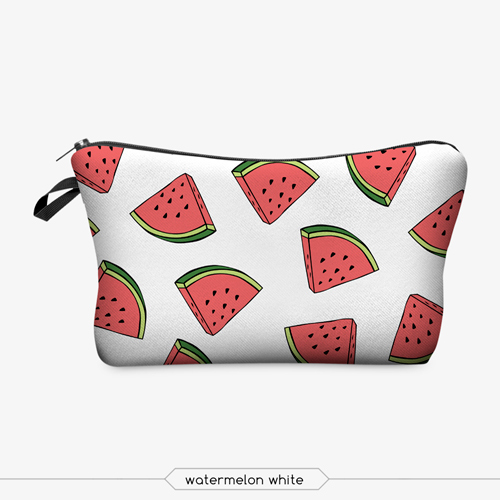 Jom Tokoy Printing Makeup Bags With Multicolor Pattern Cute organizer bag Pouchs For Travel Ladies Pouch Women Cosmetic Bag