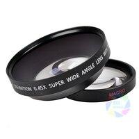 Fotga 67mm 0 45x Wide Angle Macro Conversion Lens 0 45X 67 For CANON NIKON SONY