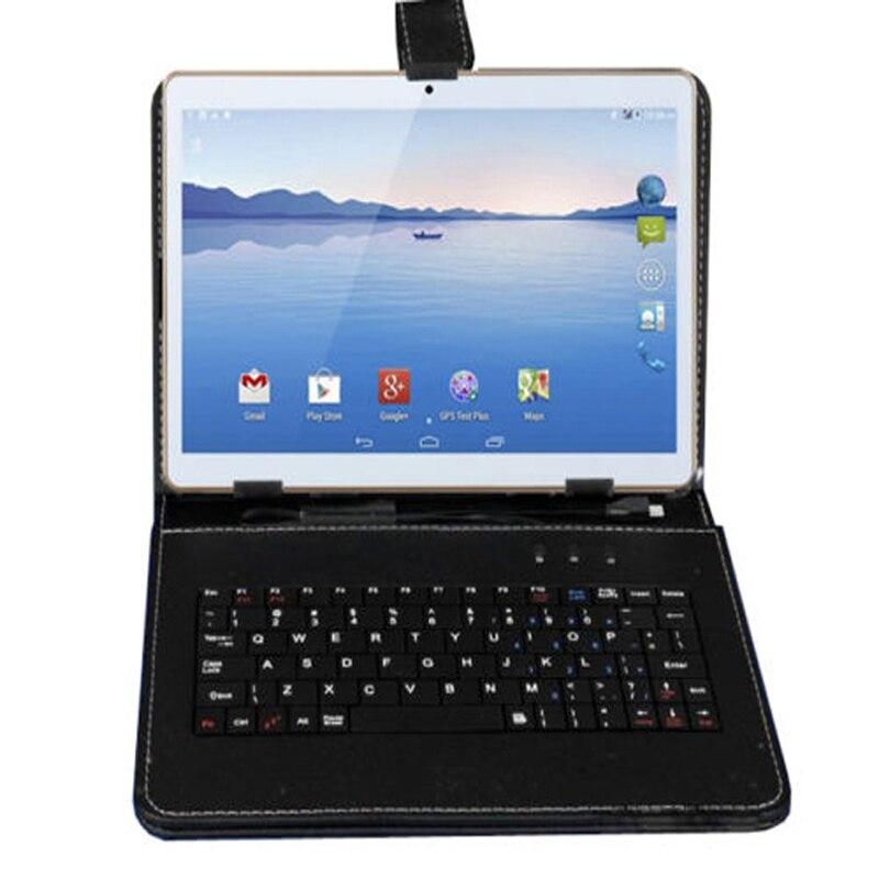 Nouveau livraison gratuite 2019 IBOPAIDA 10.1 pouces ANDROID 6.0 téléphone tablette PC double SIM 16 GB/32 GB 2.0 GHz Quad CORE RAM IPS Bunlde clavier