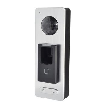 HIK Original DS-K1T501SF Terminal Fingerprint access controller, IP türklingel, telefon APP push, P2P, IP video Intercom