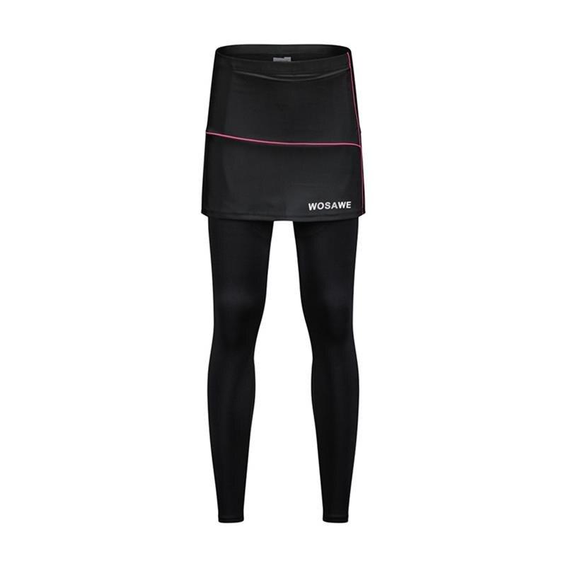 Новинка, женские велосипедные шорты, юбки, 4D гелевые черные трусы, велосипедное дышащее нижнее белье, велосипедные шорты, юбки - Цвет: Серый
