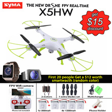 Syma X5HW RC Quadcopter Drone with FPV WIFI Camera 2.4G Height-adjustable VS Syma X5SW Upgrade RC Helicopter