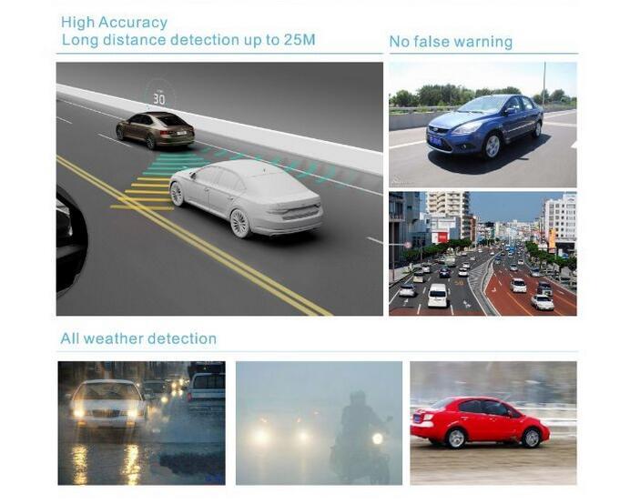Licht Alarm Auto : Auto blind spot detection fahrzeug bsd mikrowelle radar sensor