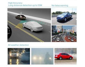 Car Blind Spot Detection Vehicle BSD Microwave Radar Sensor System Track Alarm Warning Light Buzzer Safe Driving detector car